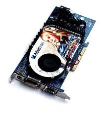 Видеокарта Albatron PC6800 с двойной системой охлаждения