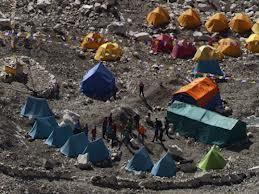Горы HD – панорама окрестностей Эвереста
